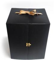 Intact Media Cake Box Paper Packaging Box(Pack of 1 Black)