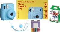FUJIFILM Instax Instax Mini 11 Starter Kit Instant Camera (Blue) Instant Camera(Blue)