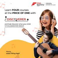Furtados School of Music FSM Discoverer (for 6 to 8 years) Vocational & Personal Development(Voucher)