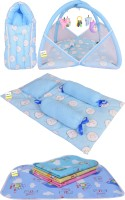 Kwitchy New Born Baby All In One Sleeping Essential(0-6 Months)(Blue)