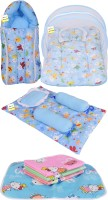 Kwitchy New Born Baby All In One Sleeping Essential(Blue)