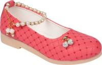 LNG Lifestyle Girls Slip on Ballerinas(Pink)