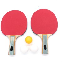 SAAHI SPORTS Table Tennis Racket Multicolor Table Tennis Racquet(Pack of: 2, 249 g)