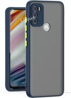 Lilliput Back Cover for Moto G40 Fusion, Moto G60, Motorola G40 Fusion, Motorola G60, Moto G40(Blue, Grip Case)