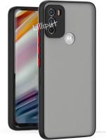 Lilliput Back Cover for Moto G40 Fusion, Moto G60, Motorola G40 Fusion, Motorola G60, Moto G40(Black, Grip Case)