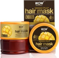 WOW SKIN SCIENCE Mango Hair Mask For Healthy Hair - No Mineral Oil, Parabens, Silicones, Synthetic Color, PEG - 200mL(200 ml)