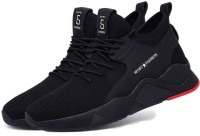 HOTSTYLE Running Shoes For Men(Black)