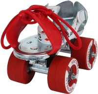 Strauss Tenacity for (6-8 Years) Quad Roller Skates - Size Adjustable UK(Silver)