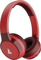 boAt Rockerz 650 with 60 Hours Battery Backup Bluetooth Headset(Raging Red, On the Ear)
