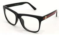 BAJERO Retro Square Sunglasses(For Men & Women, Clear)
