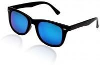 SHADEY Wayfarer Sunglasses(For Men & Women, Blue)