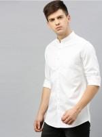 My Trending Store Men Solid Formal White Shirt