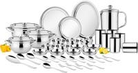Chakmak Pack of 57 Stainless Steel CLASSIC DINNER SET Dinner Set