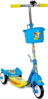 Miss & Chief Noddy 3 Wheel Adjustable Height Kids Scooter with Storage Basket , Bell , Foot Break , Weight Capacity 40 kgs (4 to 9 Years, Blue )(Blue)