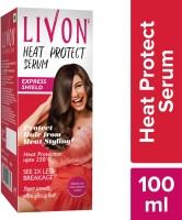 LIVON Heat Protect Serum, Instant Heat Shield, 2X Less Breakage, Upto 250C High Heat Protection, Super Smooth Finish & Ultra Glossy Hair(100 ml)