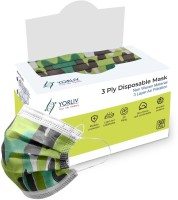 YORLIV 100 Pcs. Surgical 3 Layer Mask With Nose Clip, Non Woven Fabric, Unbreakable Ear loops (Ultrasonically Welded) & Ultra Soft Ear loops (Box Sealed Packing) Disposable 3 Ply Pharmaceutical Breathable Surgical Pollution Face Mask with Nose Pin For Men, Women, Kids 3 Ply Maks Surgical Mask(Multic