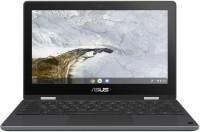 (Refurbished) ASUS Chromebook Flip Celeron Dual Core - (4 GB/64 GB EMMC Storage/Chrome) C214MA-BU0452 2 in 1 Laptop(11.6 inch, Dark Grey, 1.20 Kg)