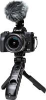 Canon EOS M50 Mark II Vlogger Kit Mirrorless Camera EF-M 15-45mm Lens(Black)