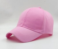 the x-lent pink solid Men's MESH Snapback Baseball Cap for Hunting, Fishing, Outdoor Activities Freesize Cap