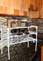 Arohi Designer Metal Kitchen Cabinet(Finish Color - White, DIY(Do-It-Yourself))