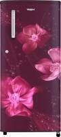 Whirlpool 190 L Direct Cool Single Door 3 Star Refrigerator(Wine, WDE 205 CLS PLUS 3S Wine Magnolia)