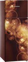 Liebherr 290 L Frost Free Double Door Top Mount 2 Star Refrigerator(Brown Bubble, TCbb 2940-20)