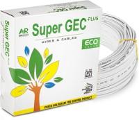 SUPER GEC ECO Multi Strand House Wiring Cable 0.75 sq/mm White 90 m Wire(White)