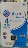 Bluei Micro SD 4 GB MicroSD Card Class 10 98 MB/s  Memory Card