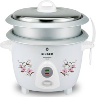 Singer Rice Cuisine 1.8 OL Electric Rice Cooker with Steaming Feature(1.8 L, White)