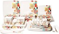 Flipkart SmartBuy Pack of 46 Melamin Dinner Set