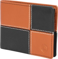 Cotnis Men Evening/Party, Casual, Travel, Trendy Brown, Black Genuine Leather Wallet(8 Card Slots)