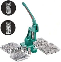 Ashapura raw material Button Maker Making Machine Kit Stock Clear Deal Fabric Heavy Imported Dies 2 Dies (22/30 No)