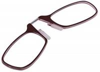 Augen Folding (+2.00) Square Reading Glasses(85 mm)