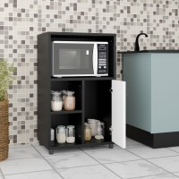 Home Full Engineered Wood Kitchen Cabinet(Finish Color - Wenge, Knock Down)