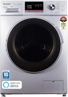 Panasonic 8 kg Fully Automatic Front Load with In-built Heater Silver(NA-148MF1L01)