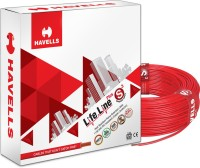 HAVELLS PVC Red 90 m Wire(Red)
