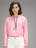 Cat William Full Sleeve Solid Women Sweatshirt