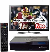 Catvision Doordarshan Freedish MPEG 2 Standard Definition Media Streaming Device(Black)