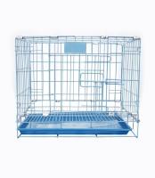Petzlifeworld 18 Inch ( 1.5 Feet) Small Blue Puppy / Cat, Rabbit, Guinea Pig Cage