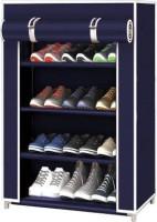 KOnline collapsible rack shelf organizer Metal Shoe Stand(4 Shelves, DIY(Do-It-Yourself))