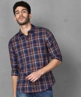 METRONAUT Men Checkered Casual Multicolor Shirt