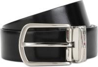 TOMMY HILFIGER Men Formal Tan, Black Genuine Leather Reversible Belt