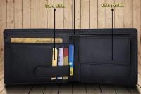 Leder Street Men Formal, Trendy, Travel Black Genuine Leather Wallet(10 Card Slots)