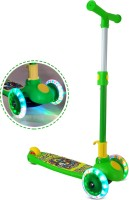Miss & Chief Smart Kick Scooter For Kids, 3 Adjustable Height, Foldable,Front Wheel light & PVC Wheels (3 to 8 Years Kids)(Green)