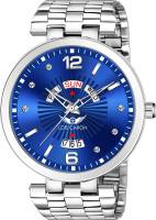 LOIS CARON LCS-8290 TRENDING DAY & DATE FUNCTIONING WATCH Analog Watch  - For Men