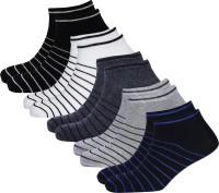 Broen Men & Women Striped Ankle Length(Pack of 5)
