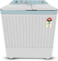 CANDY 6.5 kg 5 star Semi Automatic Top Load White, Blue(CTT65187W)