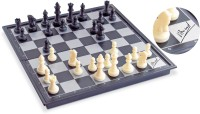 GENIUS GEMS Viswanathan Anand signed Magnetic Travelling Foldable chess set for all ages Strategy & War Games Board Game