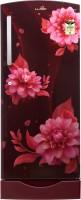 Lloyd 200 L Direct Cool Single Door 4 Star Refrigerator with Base Drawer(Begonia Wine, GLDF214SS2PB)