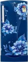 Lloyd 200 L Direct Cool Single Door 4 Star Refrigerator with Base Drawer(Begonia Blue, GLDF214SS2PB)